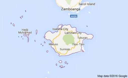 basilan-map