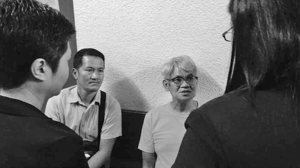 Peace consultant Rafael Baylosis and his companion Roque Guillermo Jr were arraigned today by a Quezon City court, after denial of Pilc Phils motion to suppress fake and manufactured evidence. Photo from Atty. Kristina Conti's Facebook account.